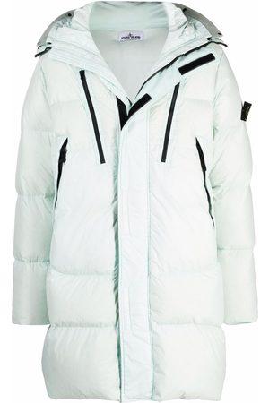 Stone Island Muži Péřové bundy - Padded hooded coat