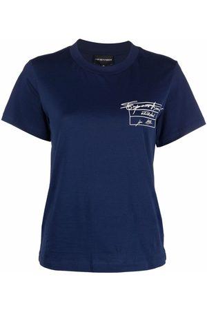 Emporio Armani Logo-print short-sleeve T-shirt