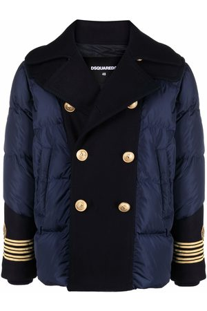 Dsquared2 Double-breasted puffer coat