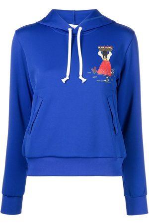 Comme des Garçons Parka graphic-print hoodie