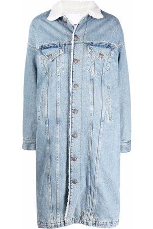 R13 Long-line denim jacket