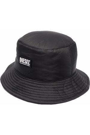 Diesel Logo-patch bucket hat