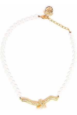 Erdem Ženy Náhrdelníky - Crystal knot necklace