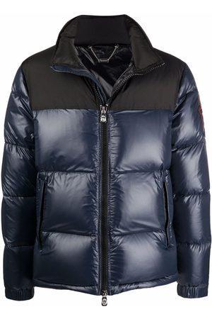 Billionaire Logo-patch padded down coat