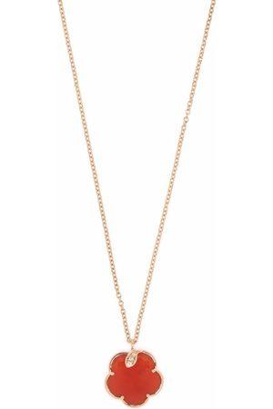Pasquale Bruni Ženy Náhrdelníky - 18kt rose gold Petit Joli carnelian and diamond necklace