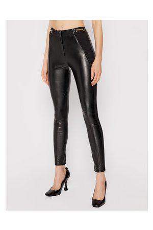 BABYLON Ženy Kožené kalhoty - Kalhoty z imitace kůže