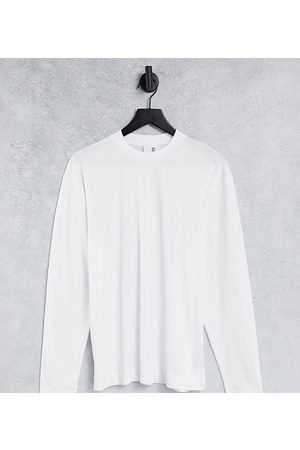COLLUSION Long sleeve t-shirt in white