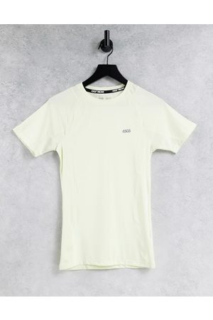 ASOS 4505 Muži Trička - Muscle fit training t-shirt in recycled polyester-Green