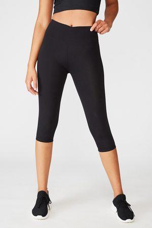Cotton On Ženy Legíny - Sportovní legíny Active Capri