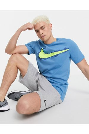 Nike Training Sport Clash logo t-shirt in blue