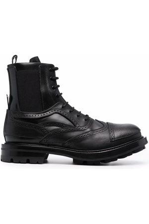 Alexander McQueen Muži Kotníkové - Lace-up ankle boots