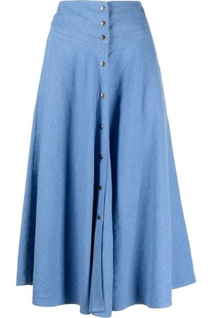 Forte Forte Buttoned-up A-line skirt