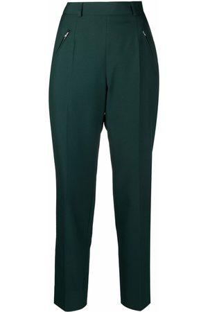 Maison Margiela Ženy Společenské - High-rise tailored trousers