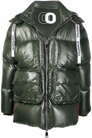 Khrisjoy Muži Péřové bundy - Zip-up padded down coat