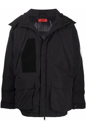 424 FAIRFAX Padded hooded coat