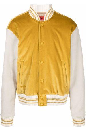 424 Two-tone bomber jacket