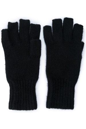 Khaite The Kai cashmere-knit gloves