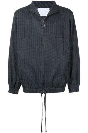 Off Duty Muži Bundy - Textured zipped jacket