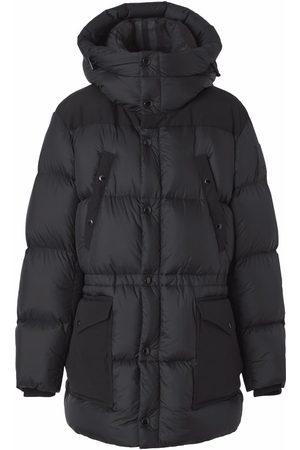 Burberry Logo appliqué nylon puffer coat