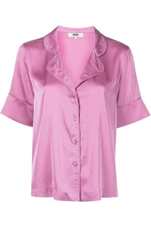 Apparis Satin-effect short-sleeve pyjama set