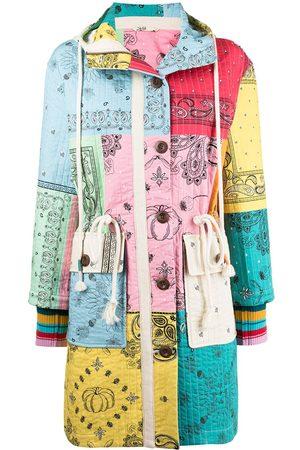 MIRA MIKATI Ženy Parky - Bandana-print quilted coat