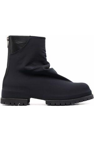 424 Muži Kotníkové - Leather ankle boots