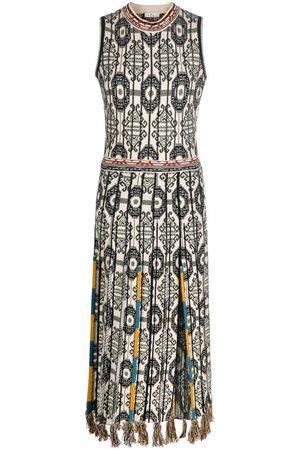 Etro Ženy Pletené - Patterned jacquard knitted dress