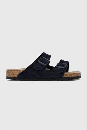 Birkenstock Semišové pantofle Arizona