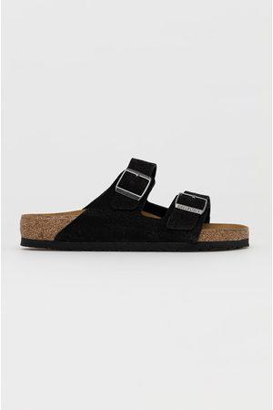 Birkenstock Kožené pantofle Arizona