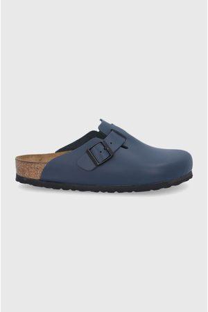 Birkenstock Kožené pantofle Boston