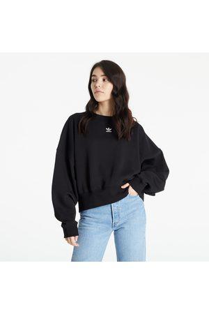 adidas Originals Ženy Mikiny bez kapuce - Adidas Sweatshirt Black