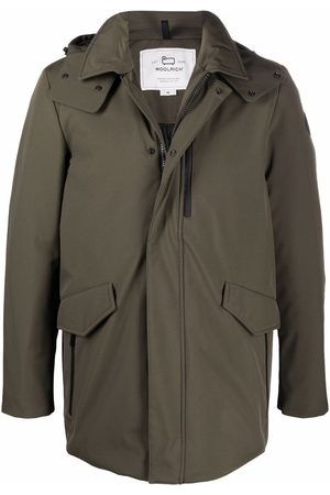 Woolrich Muži Parky - Hooded mid-length coat