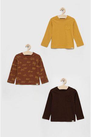 GAP Dětské tričko s dlouhým rukávem (3pack)