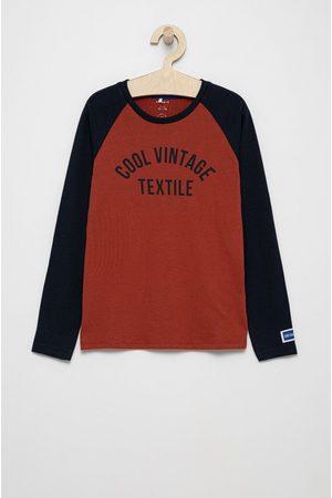 NAME IT Dětská bavlněná košile s dlouhým rukávem
