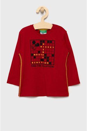 Benetton Dětské tričko s dlouhým rukávem x Disney