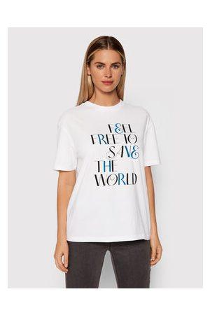 Benetton Ženy S límečkem - T-Shirt