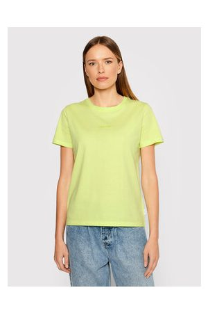 Calvin Klein Ženy S límečkem - T-Shirt