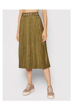 DKNY Plisovaná sukně