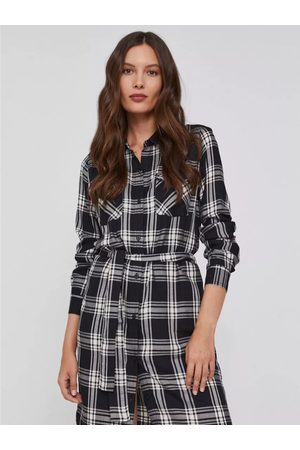 Pepe Jeans Ženy Šaty - Dámské kárované šaty Nuria