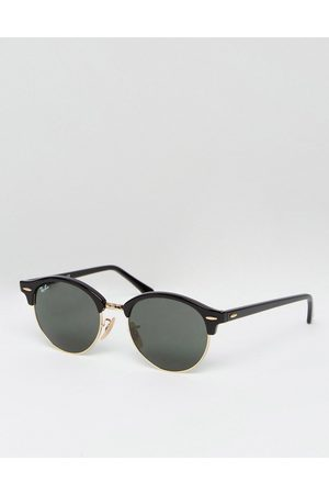 Ray-Ban Clubmaster round sunglasses 0rb4246-Black