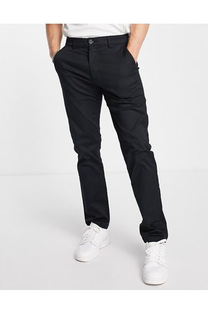 Selected Homme Chinos in straight fit in black
