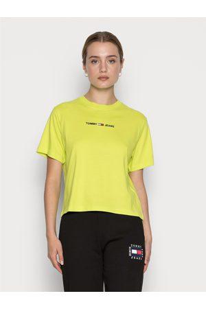 Tommy Jeans Ženy Trička - Dámské neonové triko