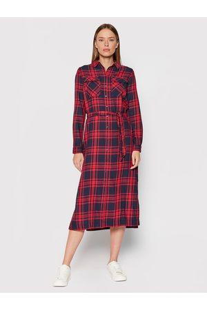 Pepe Jeans Ženy Šaty - Dámské kárované šaty Nina