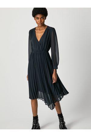 Pepe Jeans Ženy Šaty - Dámské černé šaty Susy