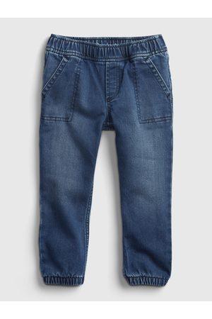 GAP Modré klučičí džíny natahovací
