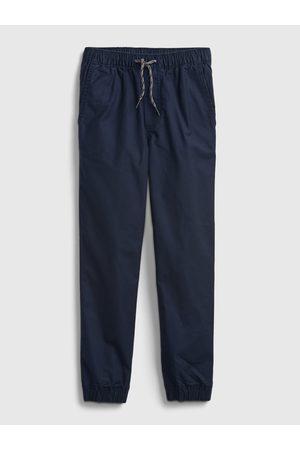 GAP Modré klučičí kalhoty jogger