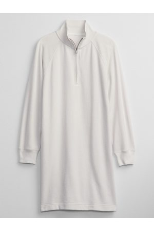 GAP Smetanové dámské šaty sweatshirt dress