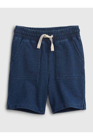 GAP Modré klučičí kraťasy pull-on shorts
