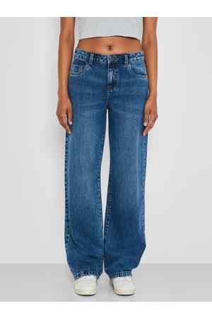Noisy May Modré široké džíny Amanda