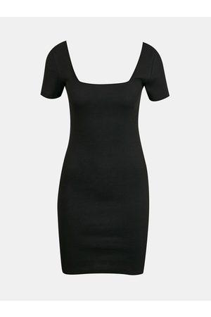 Tally Weijl Černé pouzdrové šaty